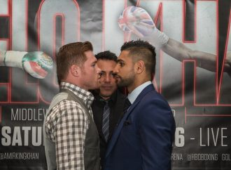 AMIR KHAN IS CONFIDENT OF CAPTURING WORLD MIDDLEWEIGHT TITLE