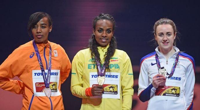 ETHIOPIANS GAIN MORE MEDALS ON FINAL DAY OF WORLD INDOORS