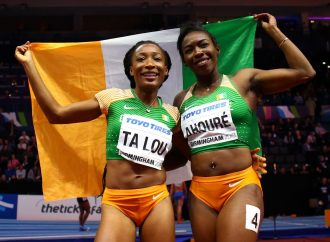 AHOURE CREATES HISTORY AS SHE WINS GOLD AT THE WORLD INDOORS