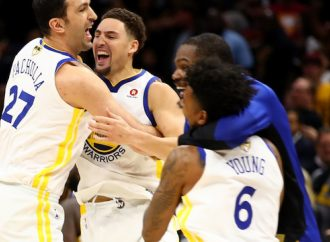 GOLDEN STATE WARRIORS ON THE BRINK OF BACK-TO-BACK TITLES