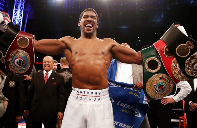 Anthony Joshua to fight Jarrell Miller in US Debut at Madison Square Garden